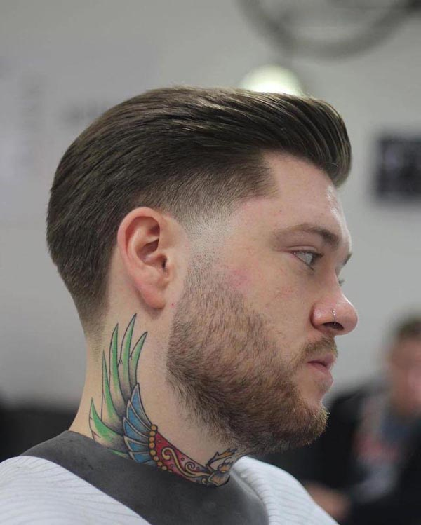 Classic Short Tapered Haircut for Men