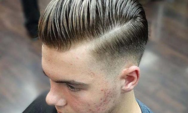 Classic Tapered Sides Haircut