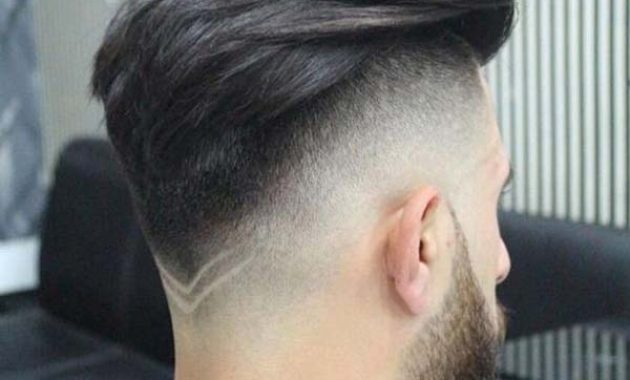 High Drop Taper Fade Haircut