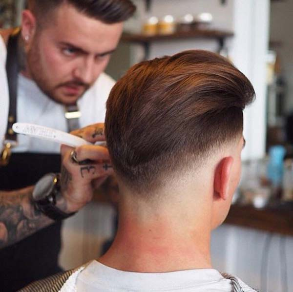 High Taper Fade Haircut for Men
