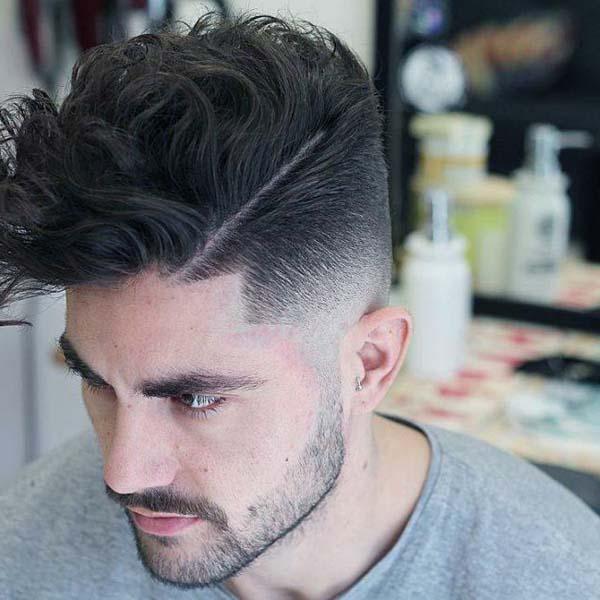 High Taper Haircut