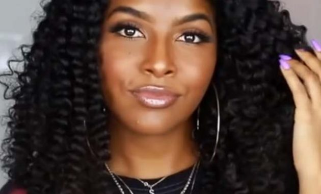 Long Curly Hairstyles for Black Women 2020