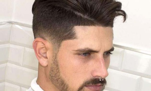 Modern High Taper Fade Haircut