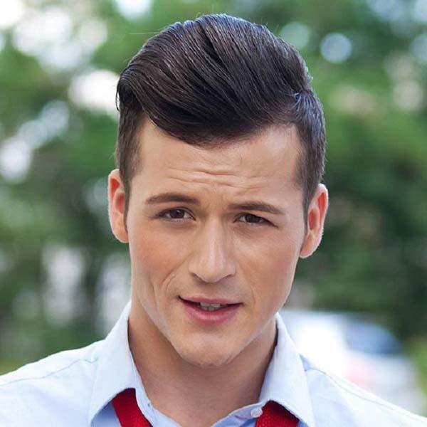 Modern Long Pompadour Haircut