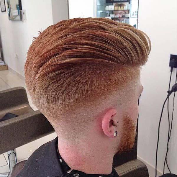Modern Pompadour Fade Haircut