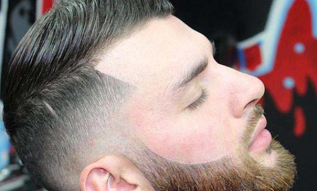 Pompadour Haircut with Beard 2020