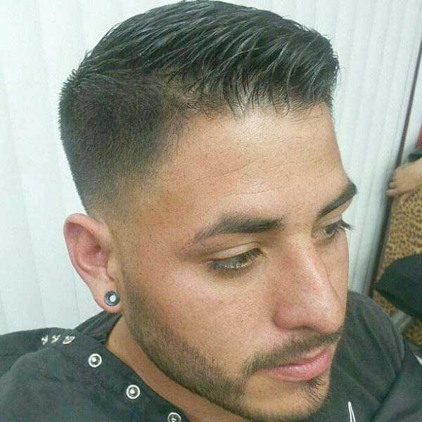 Short Low Tight Tapered Haircuts