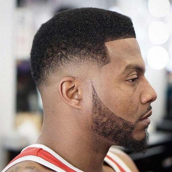 Smooth Taper Fade Haircut for Black Men