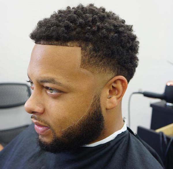 Taper Fade Haircut Afro 2020