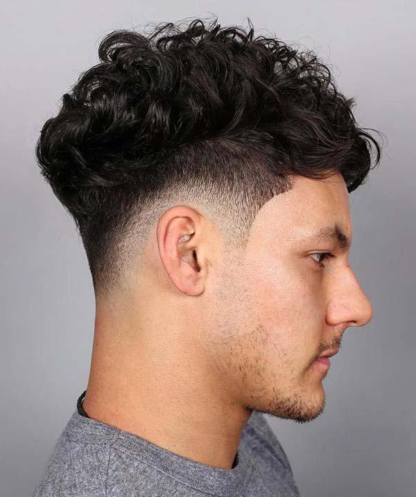 Taper Haircut Curly Hair