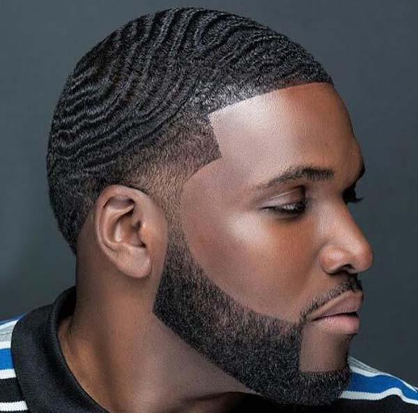 360 Waves Bald Taper Fade Haircut