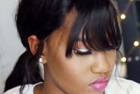 Black Women Hairstyles with Bangs