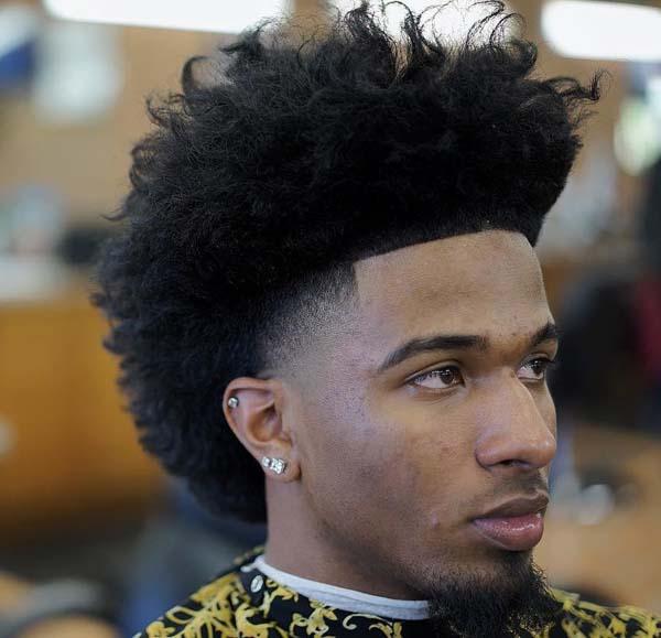 Blowout Taper Haircut