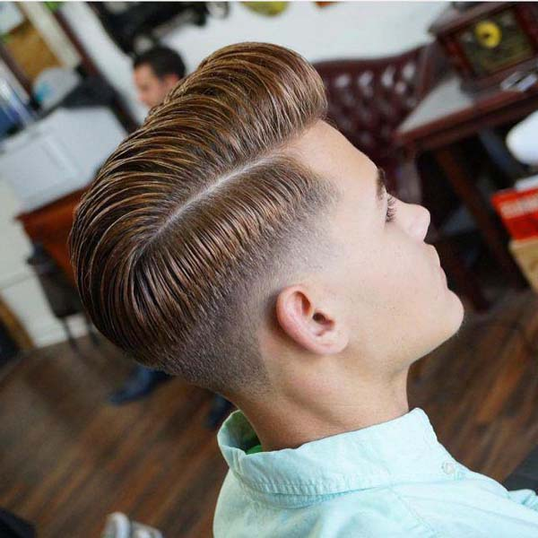 Clipper Taper Comb Over Haircut