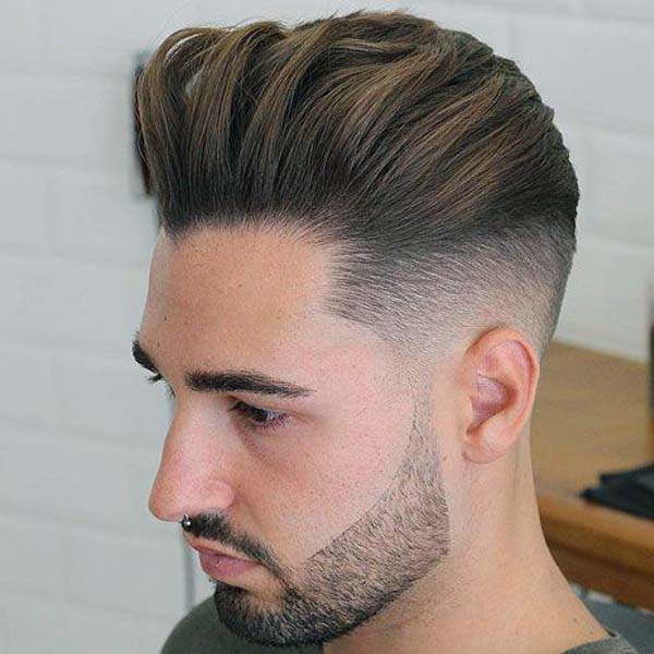 Cool Brushed Up Haircut