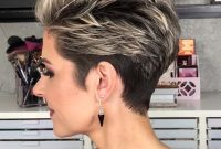 Easy Short Hairstyles for Older Women with Undercut