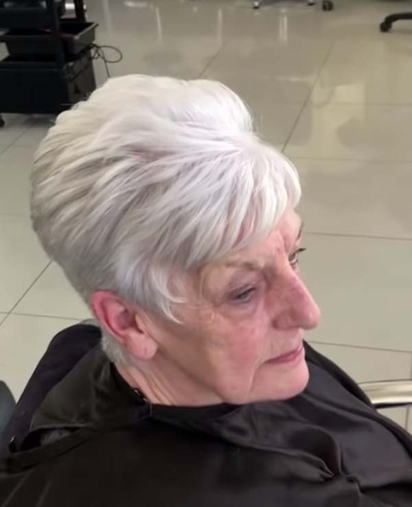 Easy Short Hairstyles for Women over 50 with Fine Hair