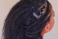 Easy Summer Hairstyles for Black Women with Braids