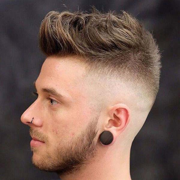 Edgy All around Taper Fade Haircut