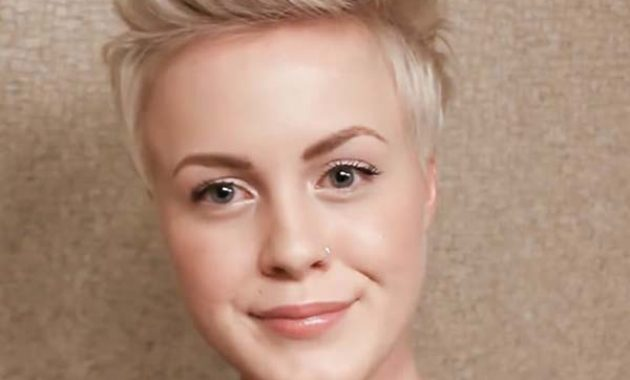 Funky Short Shaved hairstyles