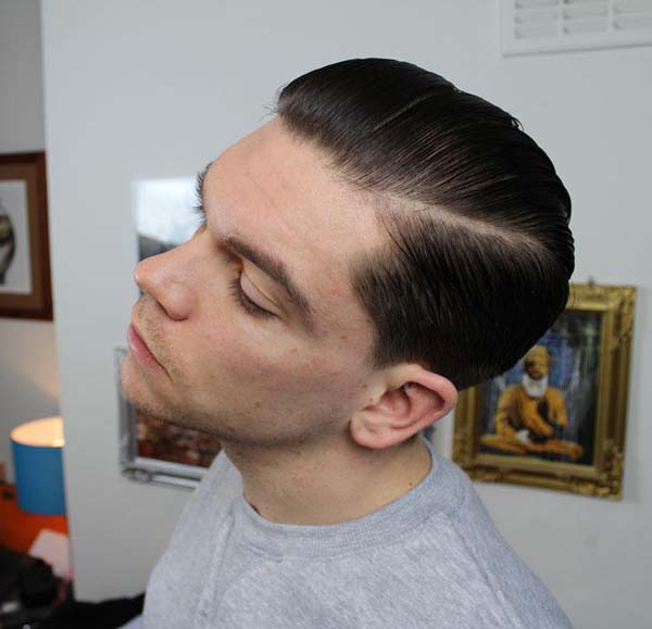 G Eazy Haircut Style with Line