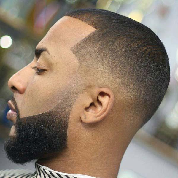 Low Bald Taper Haircut