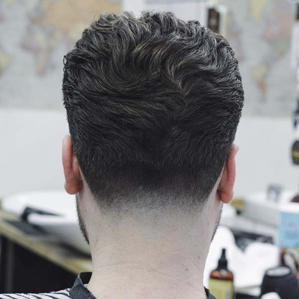 Low Neck Taper Haircut