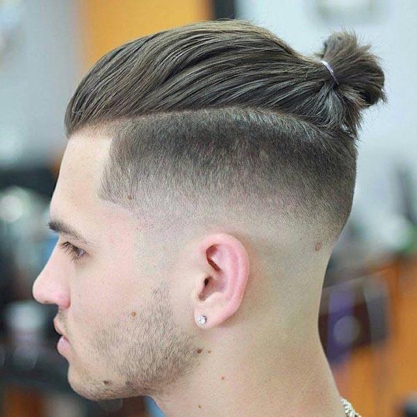Low Taper Fade Mohawk Haircut