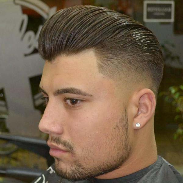 Mid Bald Fade Haircut
