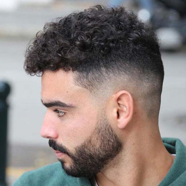 Mid Bald Taper Fade Haircut