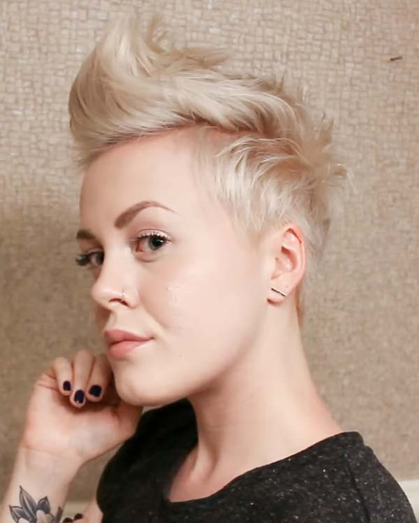 Modern Short Shaved hairstyles