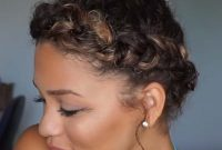 Modern Short Summer Hairstyles for Black Women with Braids