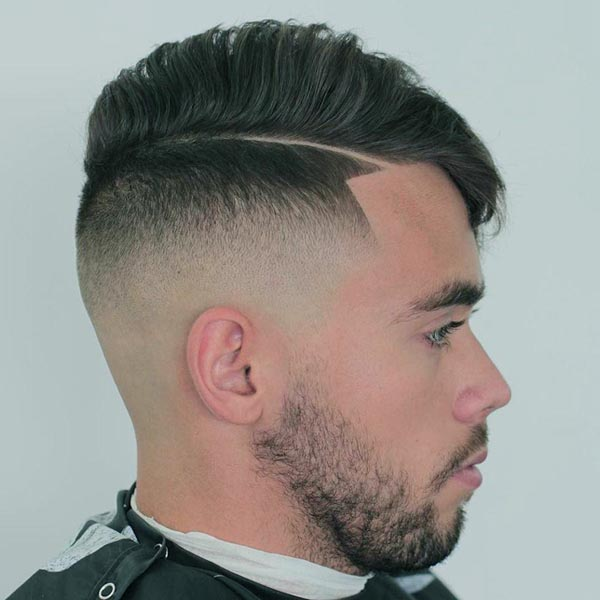 Mohawk Comb Over Low Fade Haircut