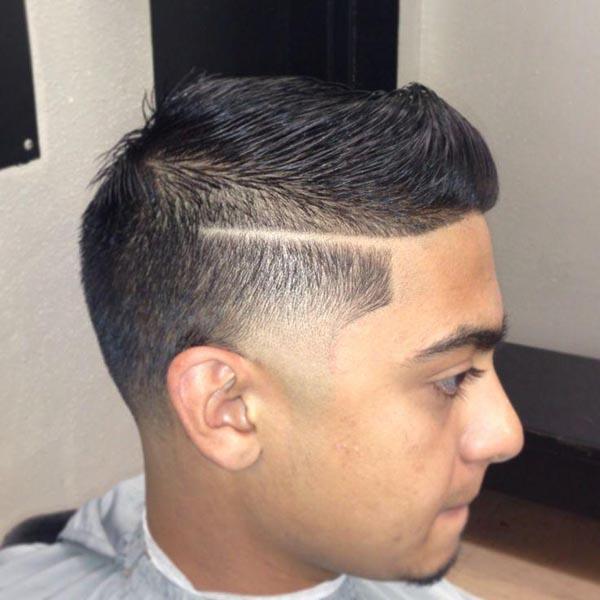 Short Blowout Taper Haircut