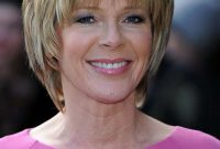 Short Bob Hairstyles for Women over 50 with Layers