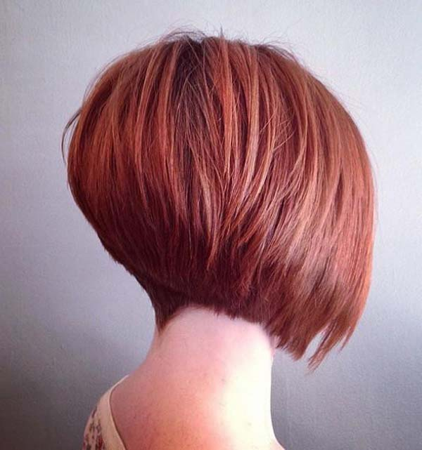 Short Bob Tapered Haircut for Women