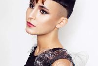 Short Funky Hairstyles with Bangs Undercut