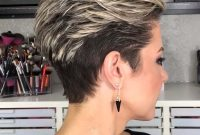 Short Hairstyles for Older Women with Undercut