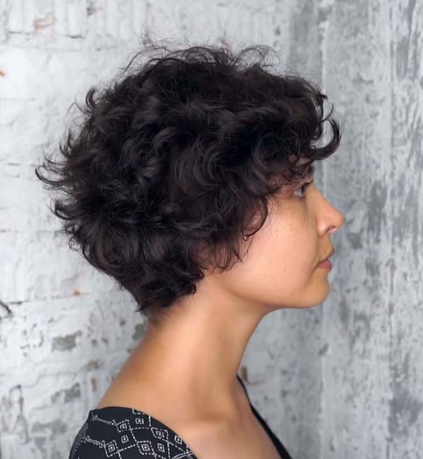 Short Hairstyles for Thick Curly Hair 2020