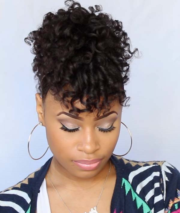 Short Mohawk Hairstyles for Black Women 2020