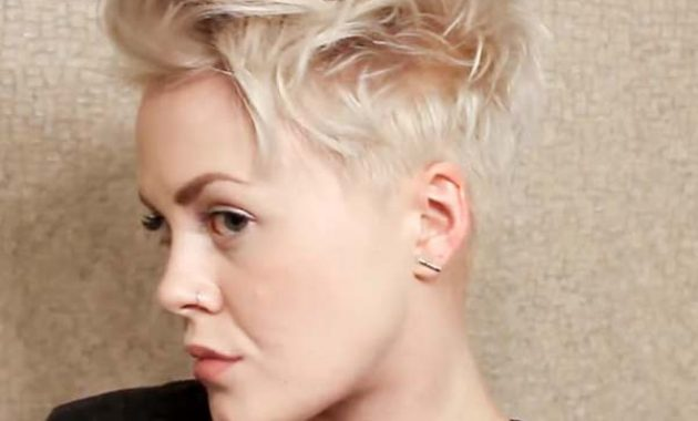 Short Shaved hairstyles for Fine Hair