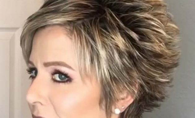 Short Spiky Hairstyles 2020