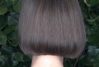 Short hairstyles for Straight Hair with Bangs Back View