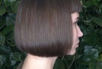 Short hairstyles for Straight Hair with Bangs and Thick Hair