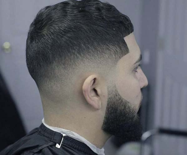 Skin Bald Taper Fade Haircut