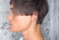 Super Short Hairstyles for Women with Bangs and Fine Hair
