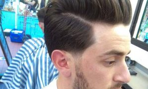 Taper Comb Over Haircut