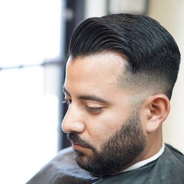 Taper Comb Over Haircut for Men