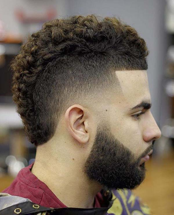 Taper Fade Mohawk Haircut 2020