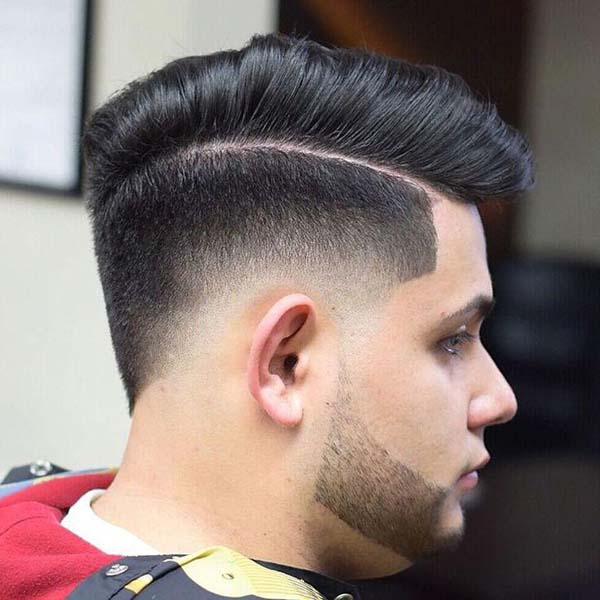 Taper Fade Mohawk Haircut Ideas